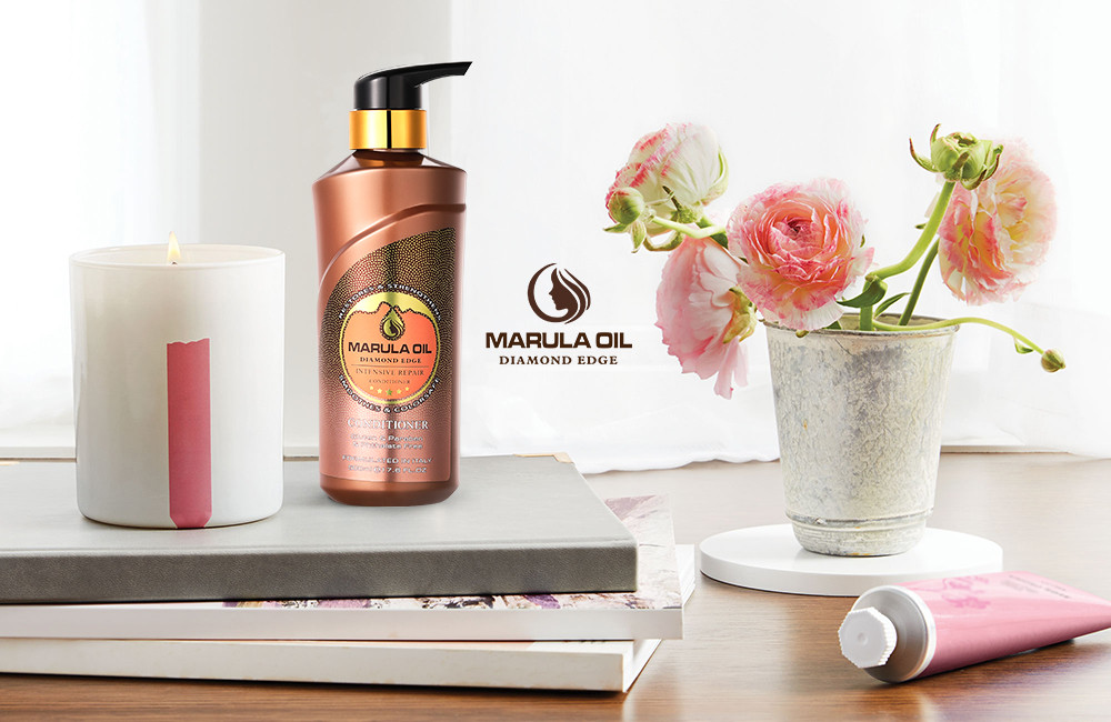 Private label natural  marula oil nourishing  hair