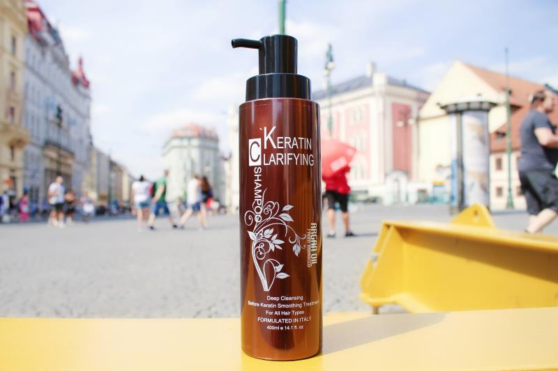 NUSPA Argan Oil Clarifying Shampoo Deep Cleansing M